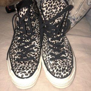 917c3cd12457 Women s Cheetah Print Converse on Poshmark